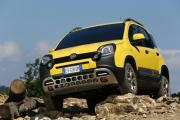 The Fiat Panda Cross comes dressed for battle with the elements and the landscape