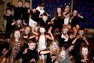 Dancers and gymnasts from Wigginton Primary School who performed Cats the musical