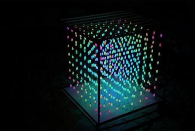 The interactive sound and light sculpture that will launch Vespertine on May 12