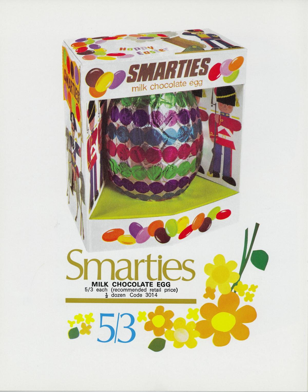 How many of these Rowntree Easter Eggs from the 1970s, 80s