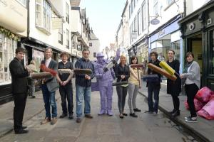 Unhappy Stonegate traders join forces to clean up