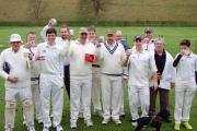 RED LETTER DAY: Members of Thixendale CC