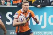 SUPER LEAGUE QUALITY: James Clare, in action for Castleford against Leeds earlier this month