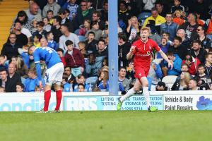 UPDATED AND WITH VIDEO HIGHLIGHTS: Late Brad Halliday goal sees York City end season with a 1-1 draw at Portsmouth