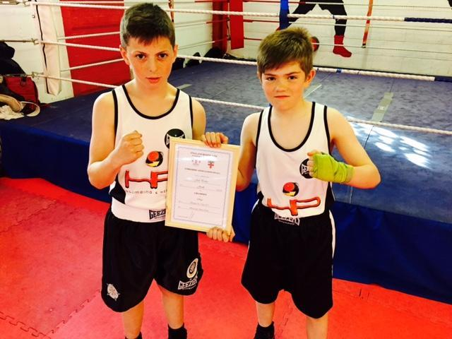 York boxing duo packing  a punch
