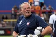 Andy Leaning, York City's new goalkeeping coach