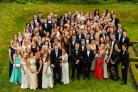 Students form Joseph Rowntree School, York, who attended the leavers' ball at the Parsonage Hotel, Escrick                                  Picture: Greg Mcgee