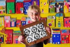 Artistic primary school pupils showcase their creative talents