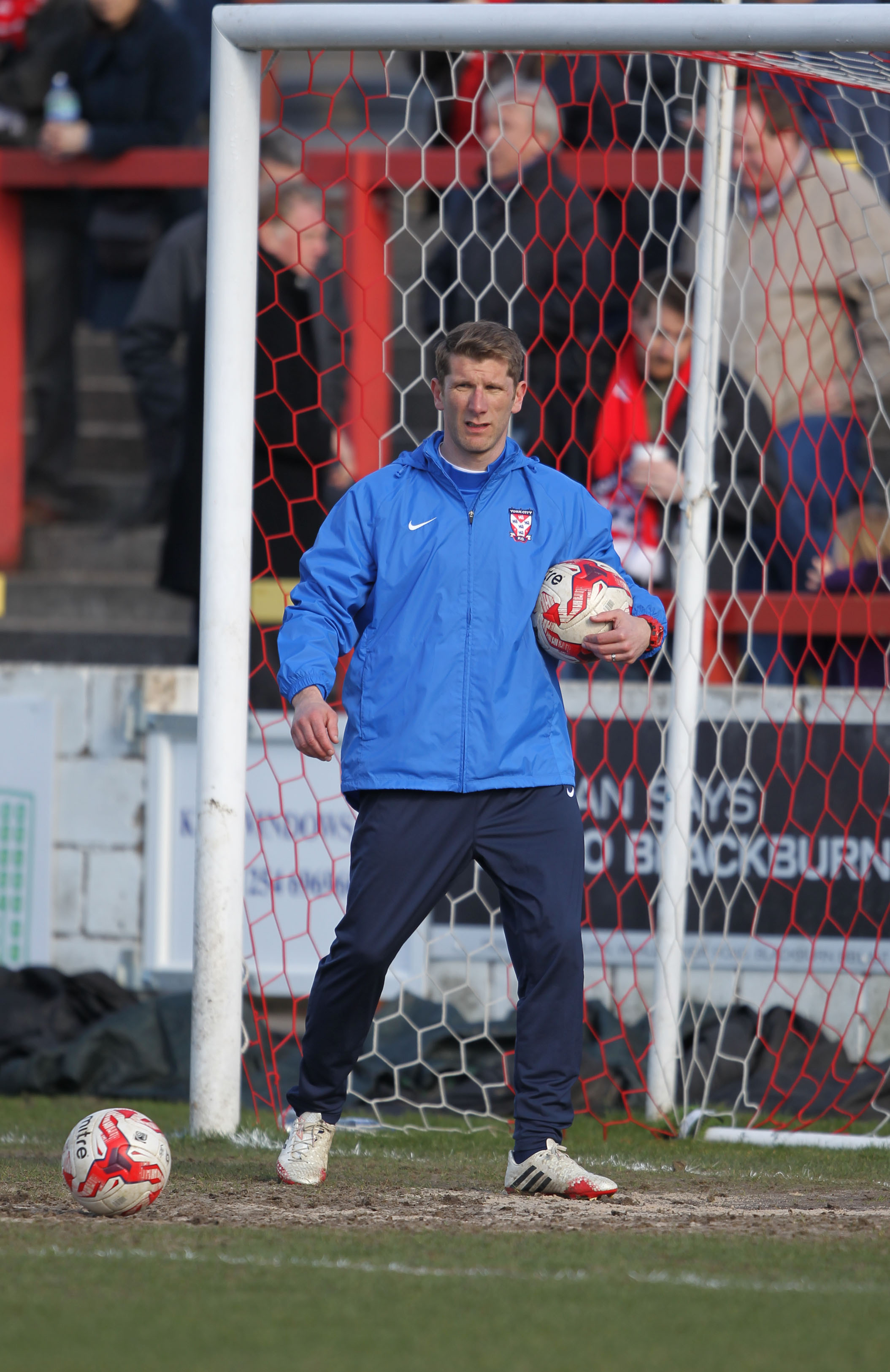 ANOTHER RETURN?: Richard Cresswell, the former York City fan favourite and first-team coach, who last left the Minstermen in December 2015 under the much-maligned managerial reign of Jackie McNamara, has emerged as favourite to take over as City boss foll
