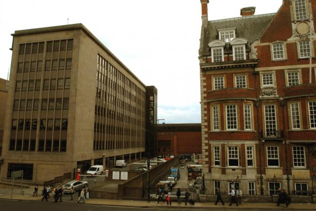 Aviva's Yorkshire House, pictured left, which has been identified as