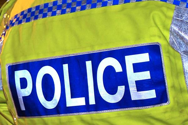 Police appeal after man damaged takeaway shop door