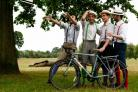 On your bike: The HandleBards will ride into York