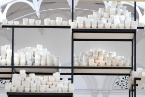 Bowled over by Clare Twomey's new installation at re-opened York Art Gallery