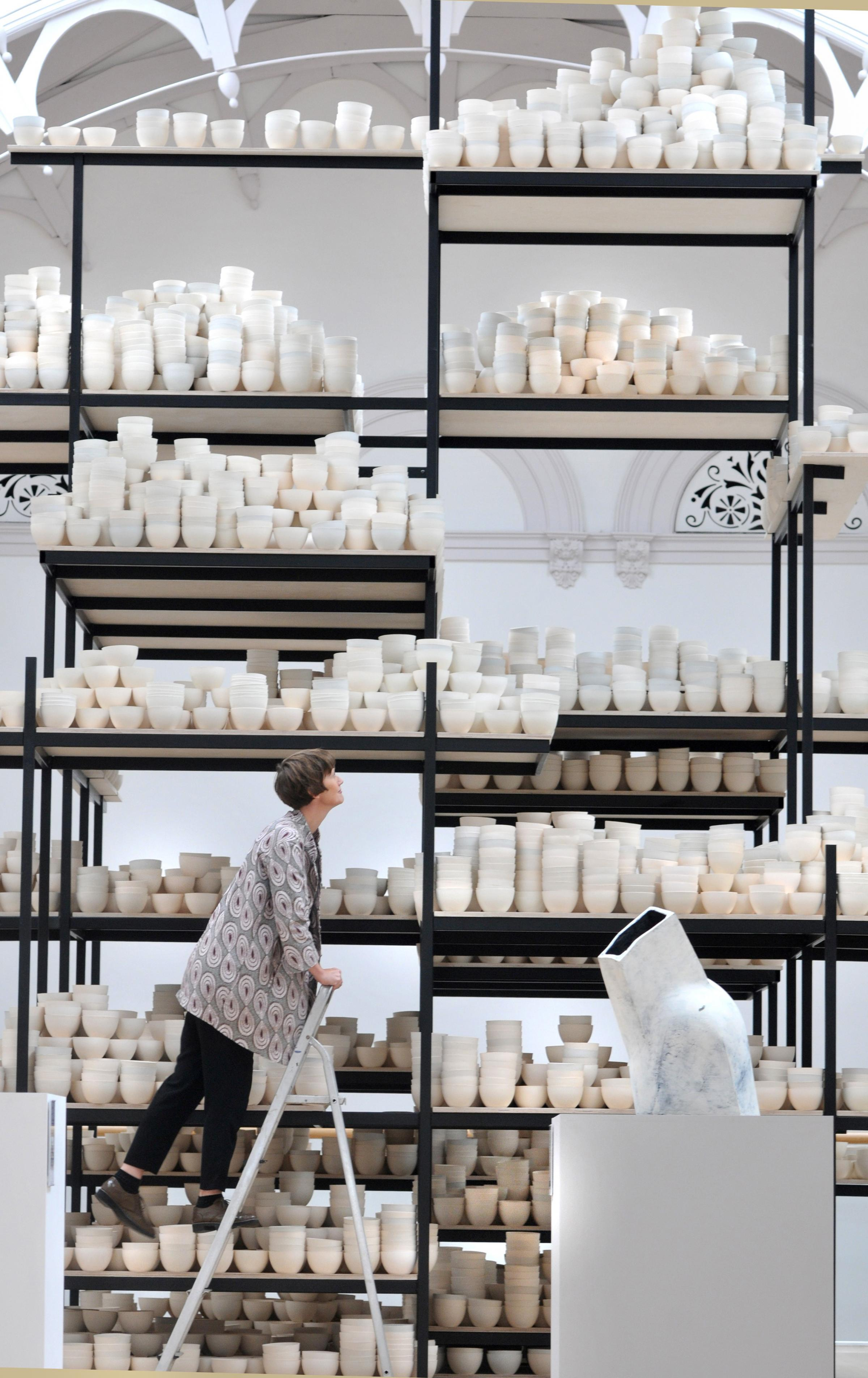 Bowled over by Clare Twomey\'s new installation at re-opened York Art ...