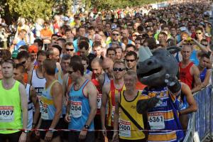 Under starters orders: 6,000 people will take to the streets today for the York 10k