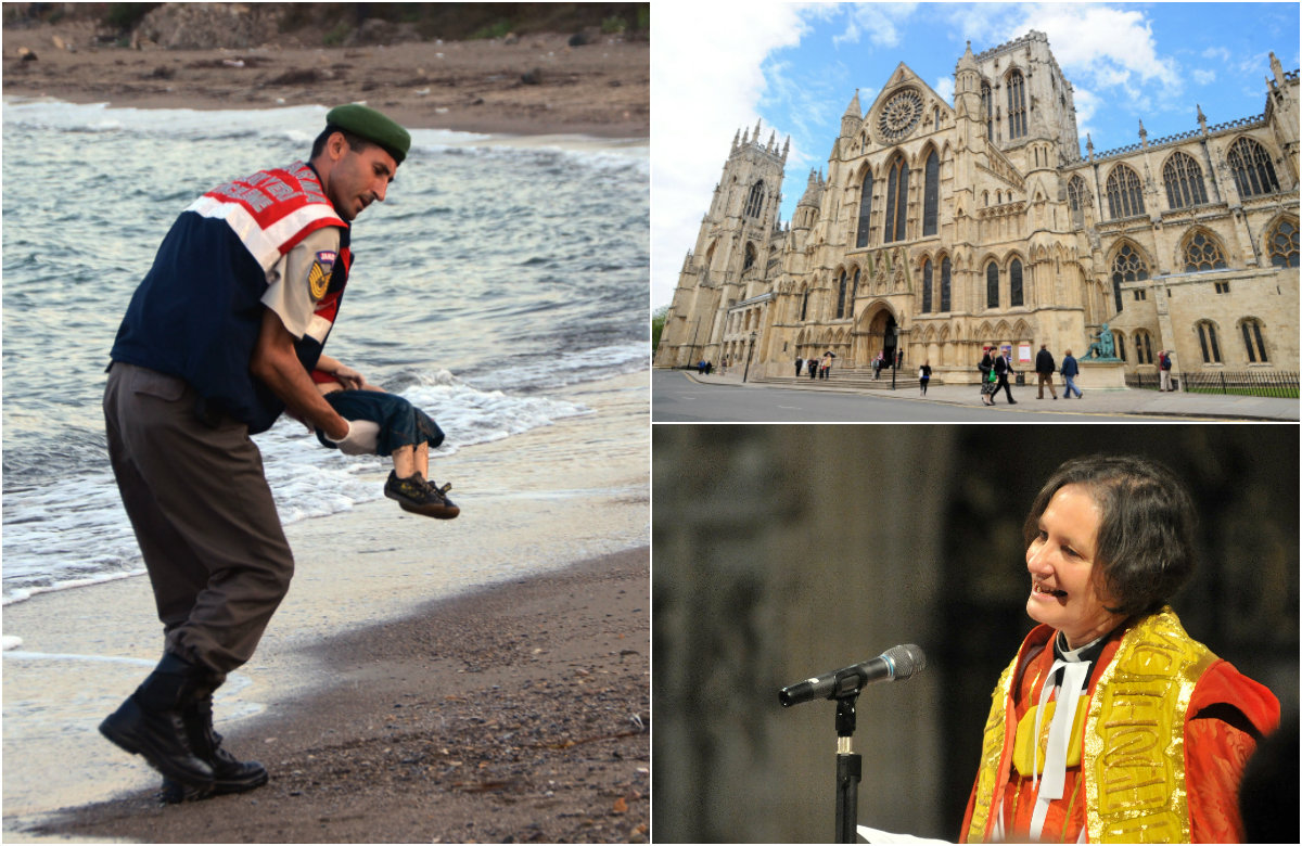 York Minster offers to host refugees as demands for British action mount