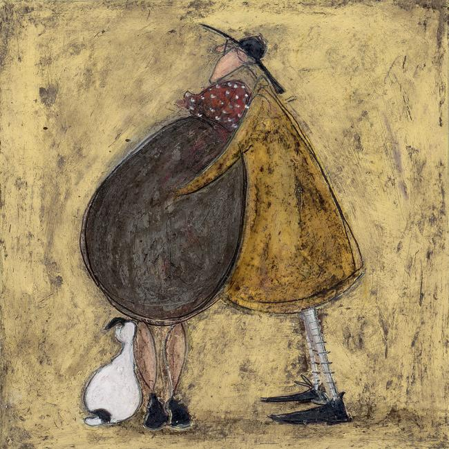 Artist sam toft to make first visit to braithwaite gallery in york sunshine of my heart by sam toft copyright sam toft and collier and dobson m4hsunfo