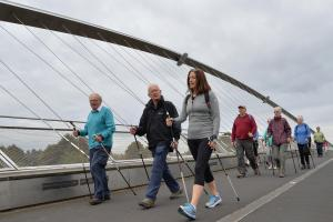 Keep fit with a Nordic Walk in the park