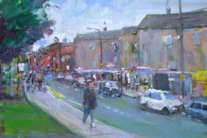 York artist Malcolm Ludvigsen to take part in two exhibitions for charity from Friday to Sunday