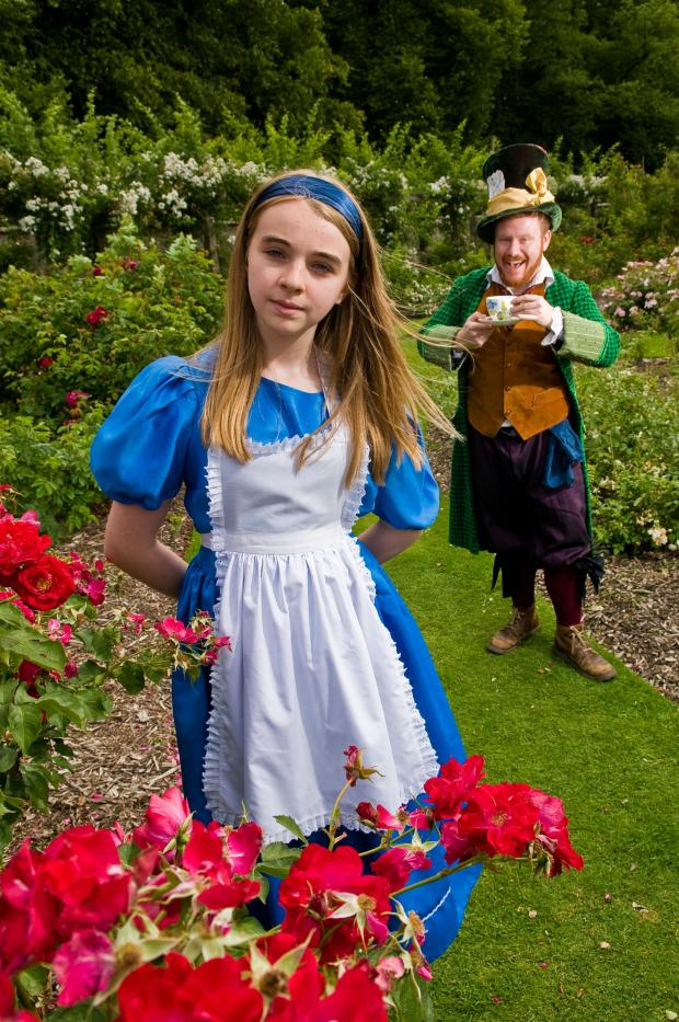 Ella Bond and John Holt-Roberts in Easingwold On Our Turf's Alice In  Wonderland