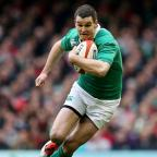 York Press: Ireland fly-half Johnny Sexton, pictured, knows he is destined for another physical battle with France's Mathieu Bastareaud