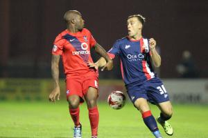 """Shirt is yours to lose,"" York City boss Russ Wilcox tells Anthony Straker"