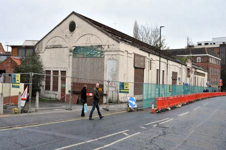 York Press: The site at Reynards garage Piccadilly York due to be demolished.Pic : Nigel Holland (47139763)