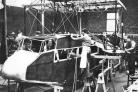 Building the Airspeed AS-4 Air Ferry that Tom flew in when he was 6 years old