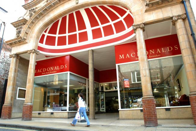 Macdonald's in Fossgate, which is to close