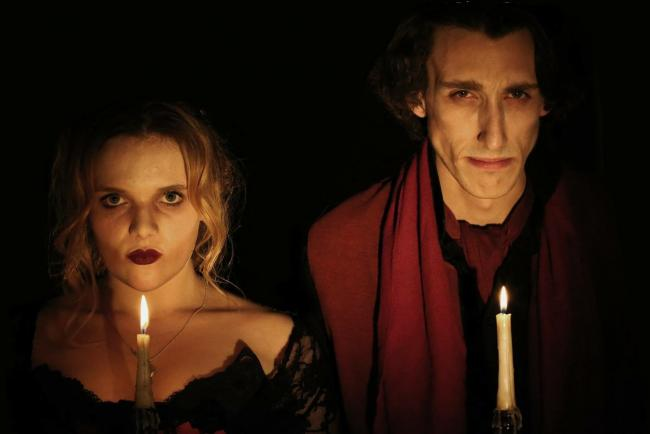 Robyn Grant and James Swanton in Winter Gothic