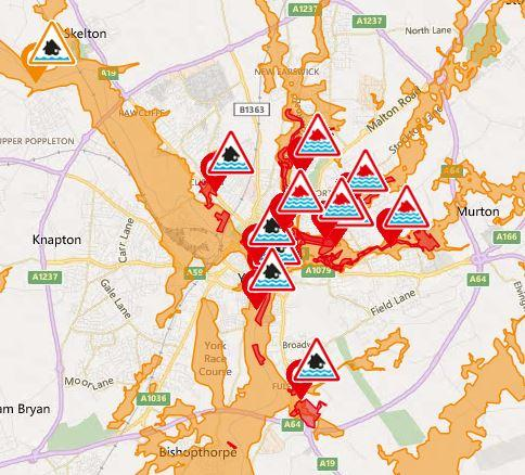 Floods England Map.York Floods 2015 How The Devastating Floods Unfolded And How York