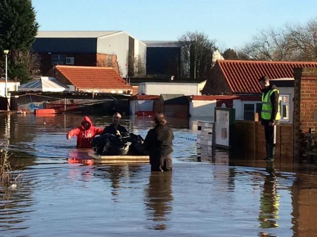 York floods 2015 How the devastating floods unfolded and how York – Flood Map York Uk