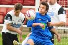 BACK IN BUSINESS: Pickering Town's Sam Calvert has returned to the squad
