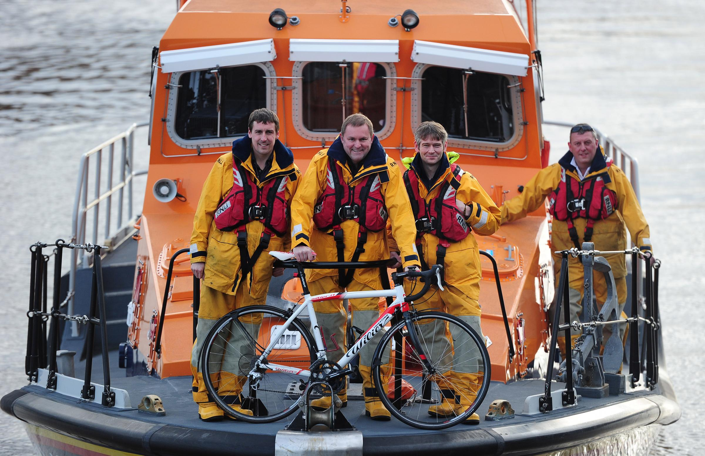 RNLI launched as official charity for Tour de Yorkshire 2016      Picture: SWPix