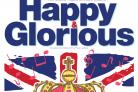 York Musical Theatre Company's poster for Happy & Glorious