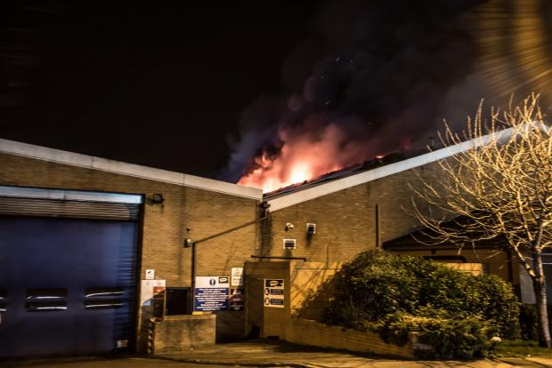 York Press: Big Blaze at Inspire Packaging Wetherby