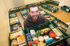 Caleb Ellwood, from York Foodbank, one of the charities featured in 32 Stories. Picture: Anthony Chappel-Ross