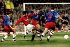 Steve Tutill, pictured here in action against non other than Ryan Giggs