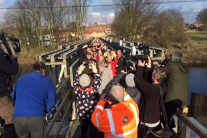 New bridge opens in Tadcaster - UPDATED