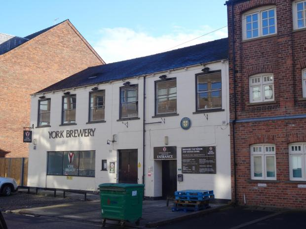 York Press: York Brewery in Toft Green