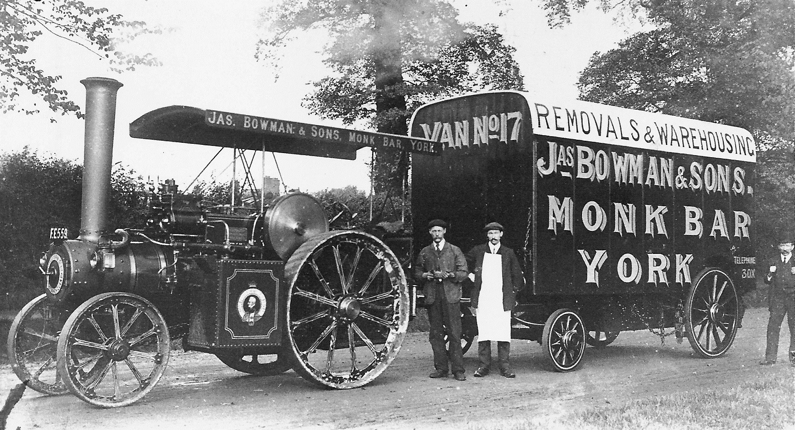 OLD PHOTOS: Furniture removal in York, 1900s-style
