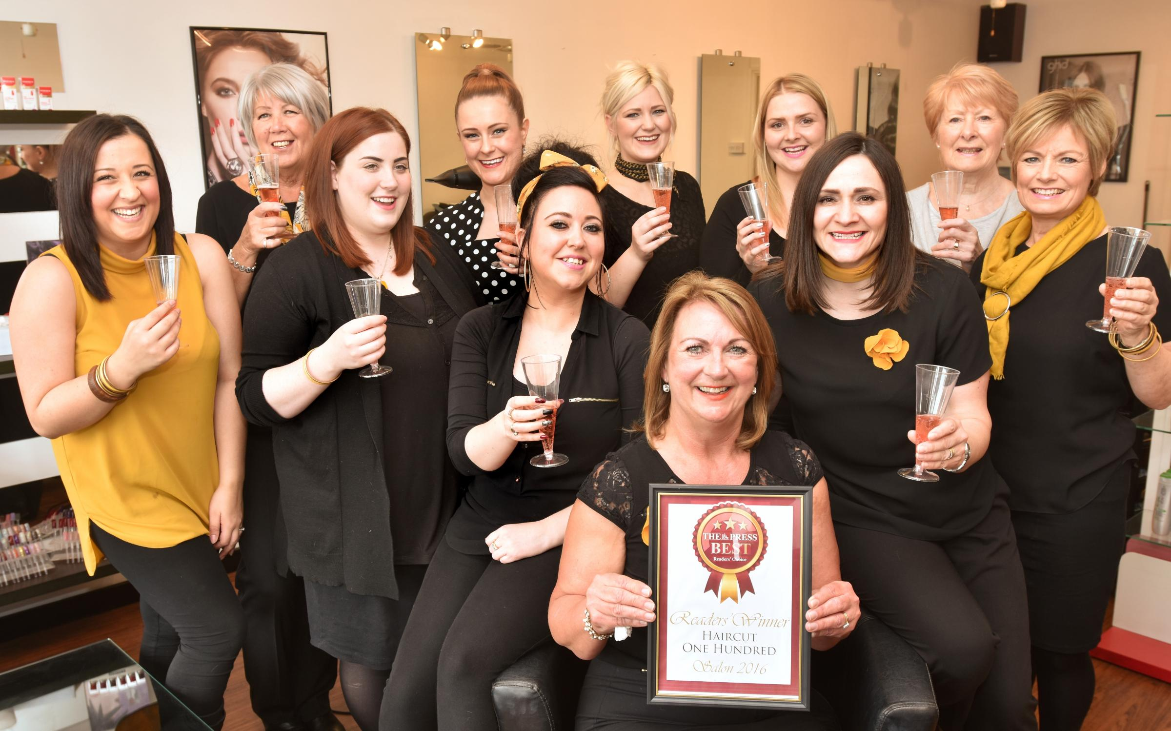 York Salon Haircut 100 Named Top Of The Crop In Press Readers