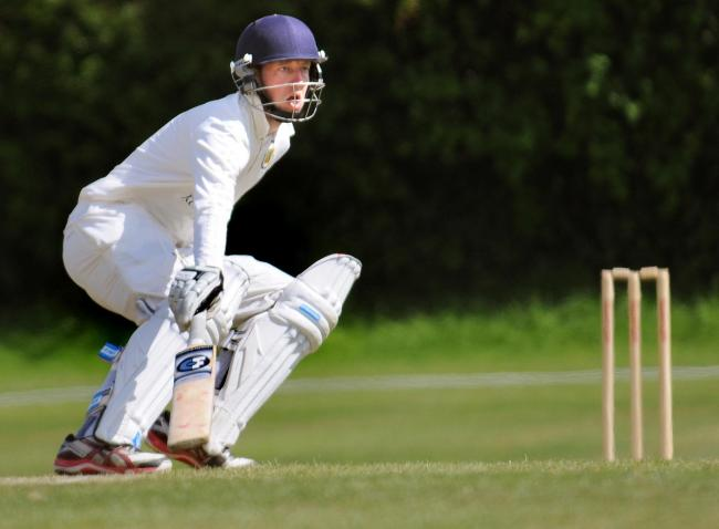 Joe Dale scored 55 and then bowled a telling final over as Acomb spiked Newburgh's title challenge Picture: David Harrison
