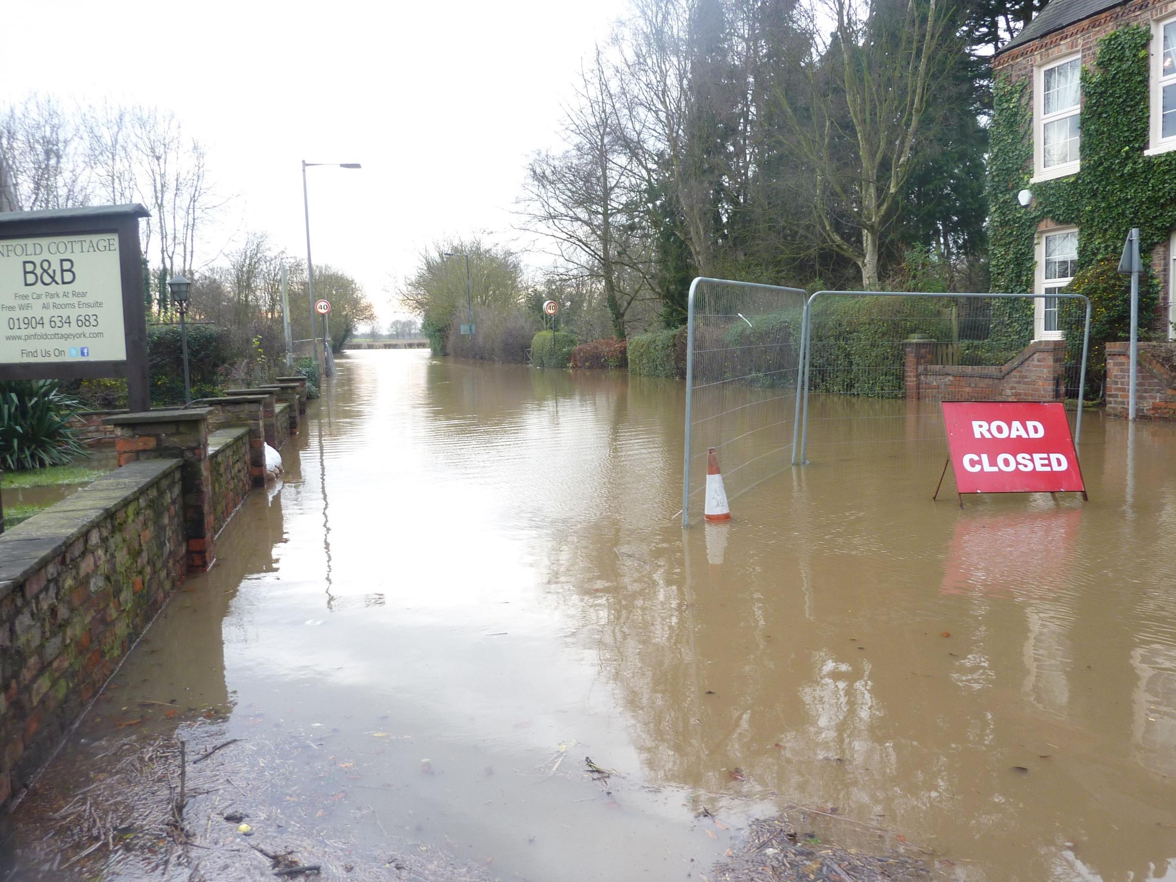 City of York Council needs to address flooding issues on A19