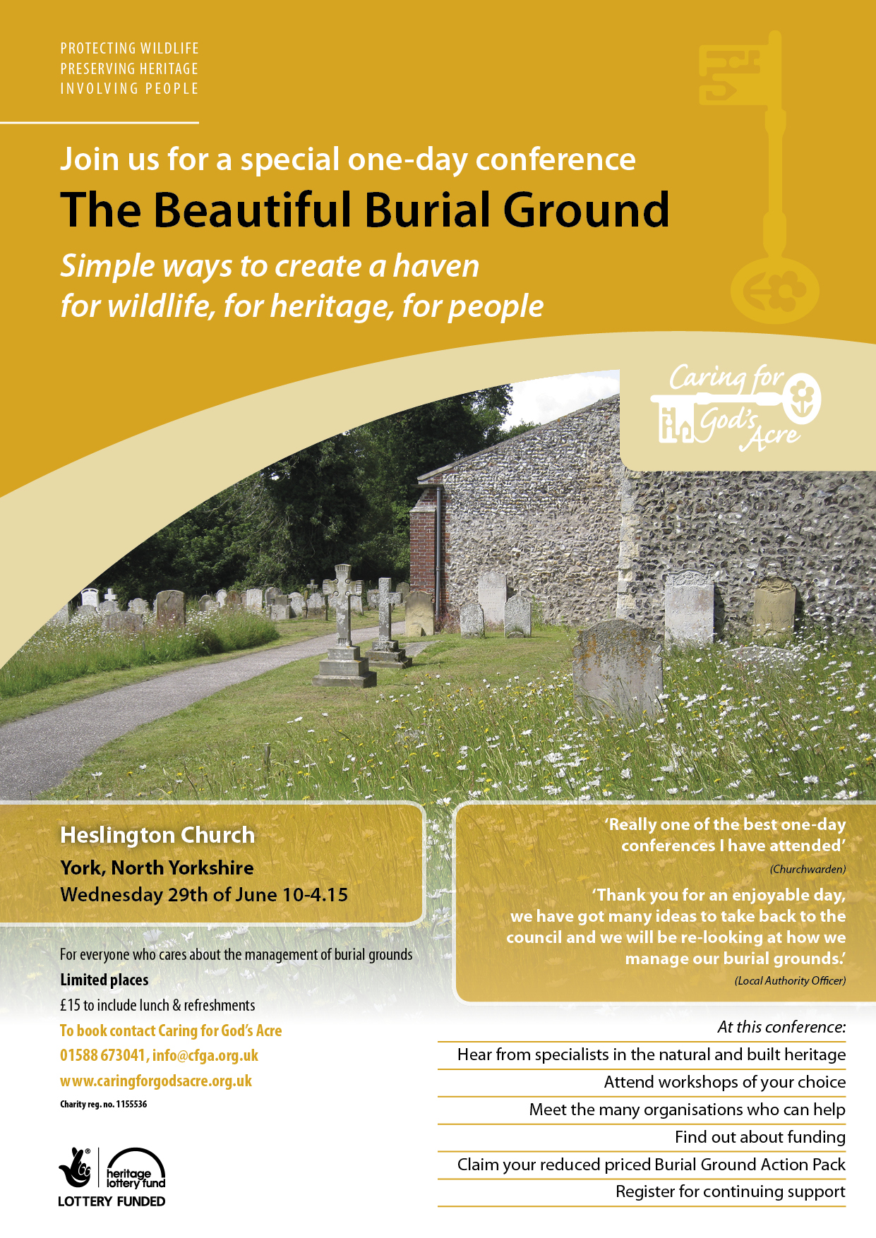 The Beautiful Burial Ground conference