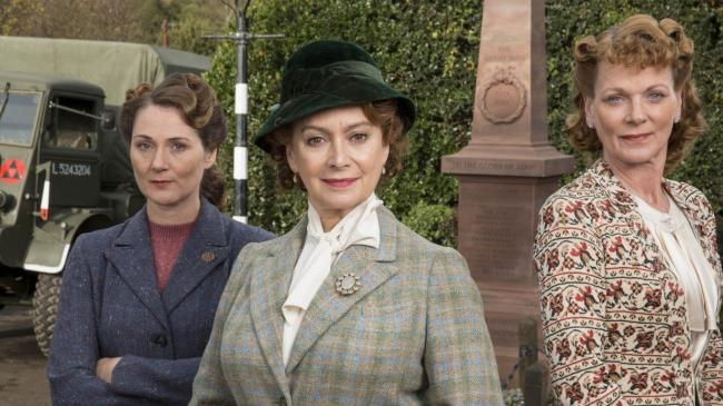 Home Fires' devastated cast and crew join furious viewers who are upset at its cancellation