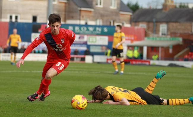 Kenny McEvoy is aiming to relaunch his career after being released by York City