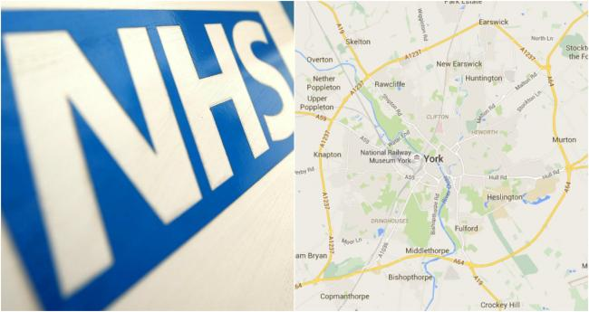 These are the 3 possible locations for York's mental health hospital