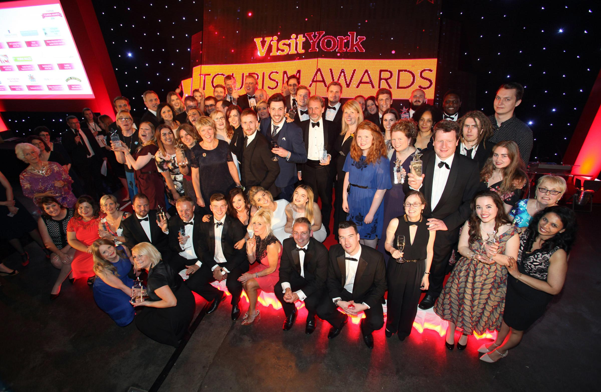 Award winners at the Visit York Tourism Awards