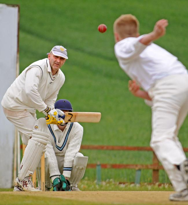RUNS: Westow batsman Andrew Welford, who helped his side notch a crucial win over Clifton Alliance to keep them in the HPH York Vale League title race with one game to go